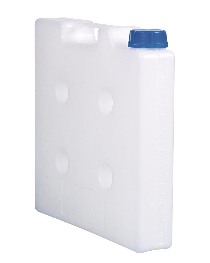 Space saving canister, 5 litre capacity, without thread