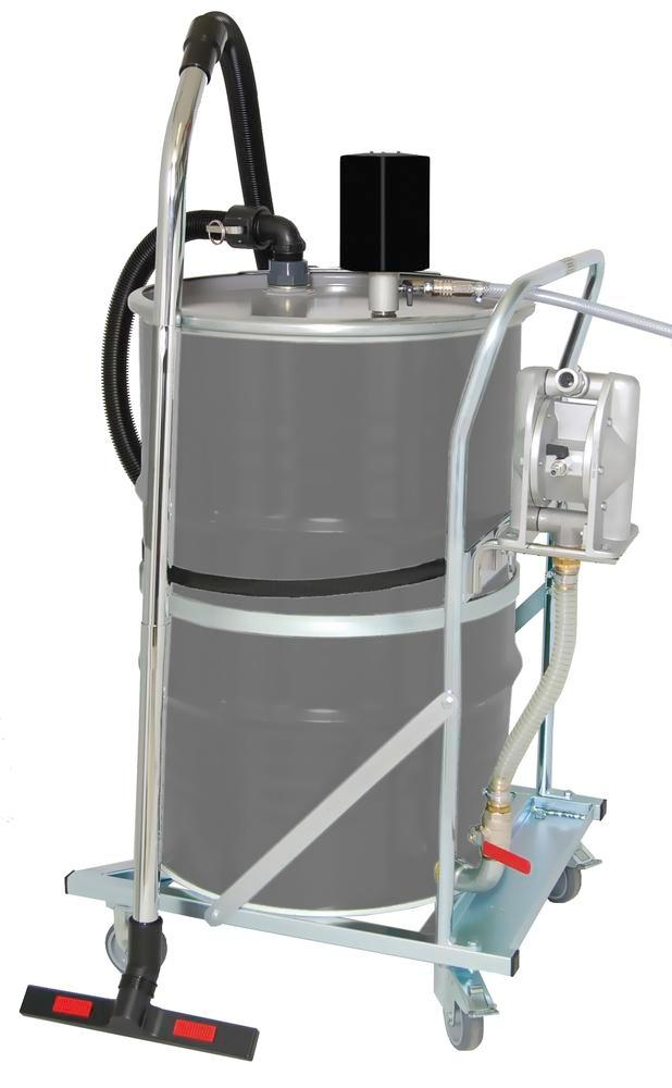 Wet vacuum cleaner Pumpout, with Venturi pump with capacity limiter