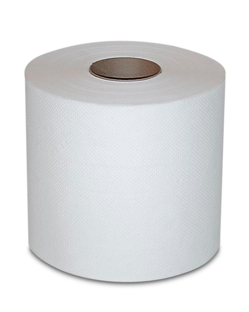 Absorbent cellulose cloth, very thick and soft, white, 4 rolls