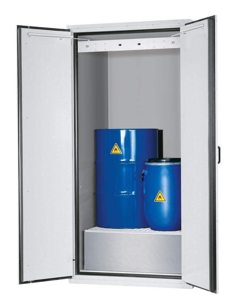 asecos fire-rated drum cabinet VbF 90.1