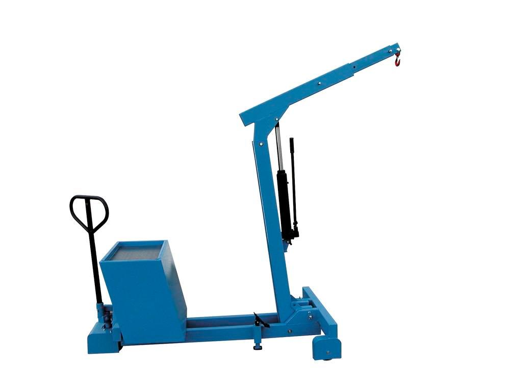 Counterbalanced crane GGK 550, 150-550 kg load capacity