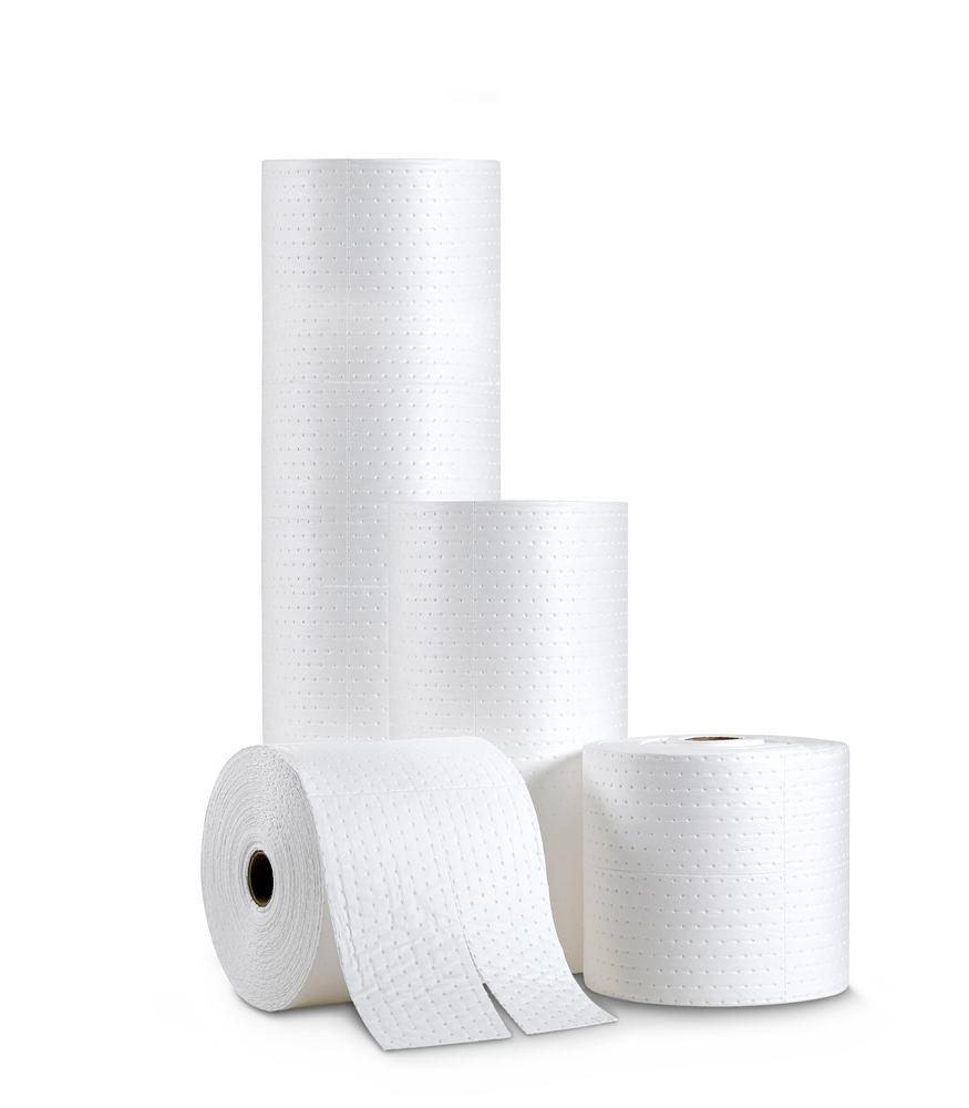 DENSORB absorbent roll Economy Single Single, OIL version, light, 38 cm x 20 m, 2 pieces - 3
