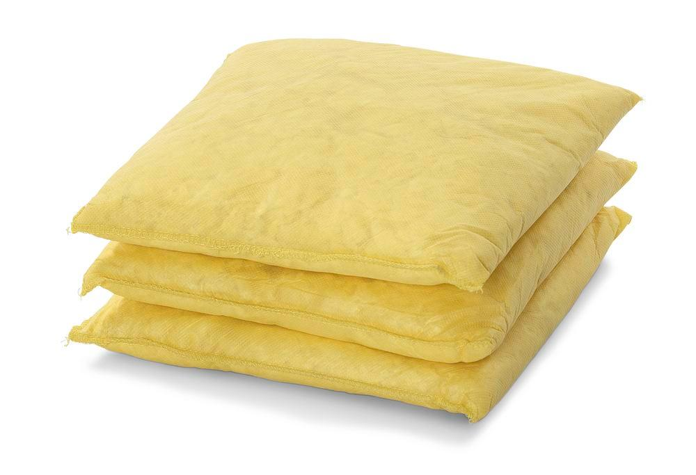 DENSORB Chemical absorbent materials, absorbent cushion for absorbing leaks, 25 x 25 cm, 30 pcs - 1