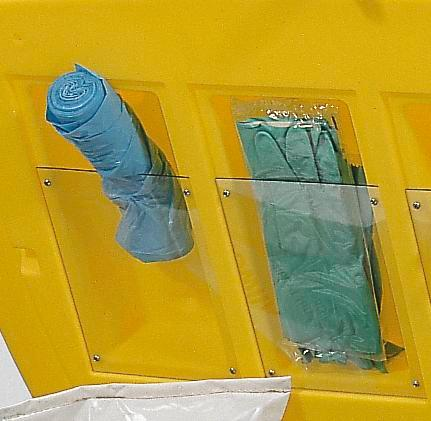 DENSORB Emergency Spill Kit in Safety Box SF100, application OIL
