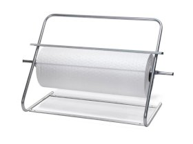 DENSORB Stand for Rolls up to 80 cm wide, Stationary/Wall Mount, with cutting edge-w280px