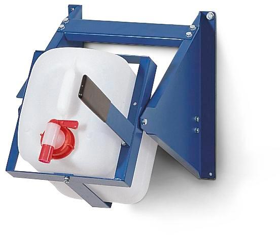 Dispensing block AB10-L, painted steel, for 10 litre carboys RAL5010