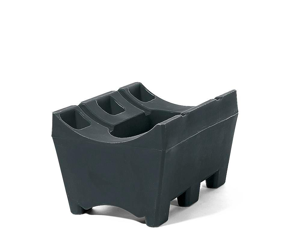 Drum mounts, polyethylene, to store 60 or 205 litre drums by design - 1