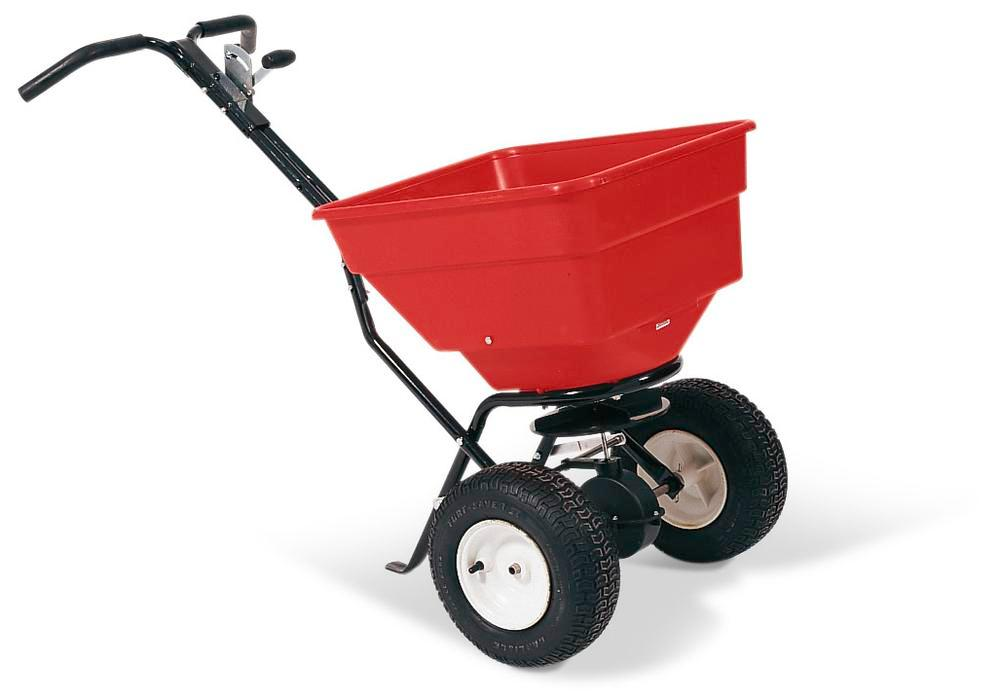 Grit spreaders made from Polyethylene (PE), with 85 litre volume