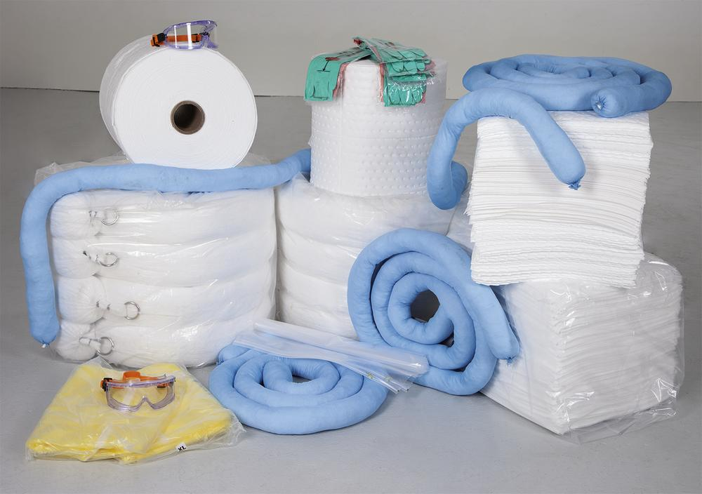 OIL MAXI L emergency spill kit in Big Bag, 782 l, ideal for oil tankers and vessels