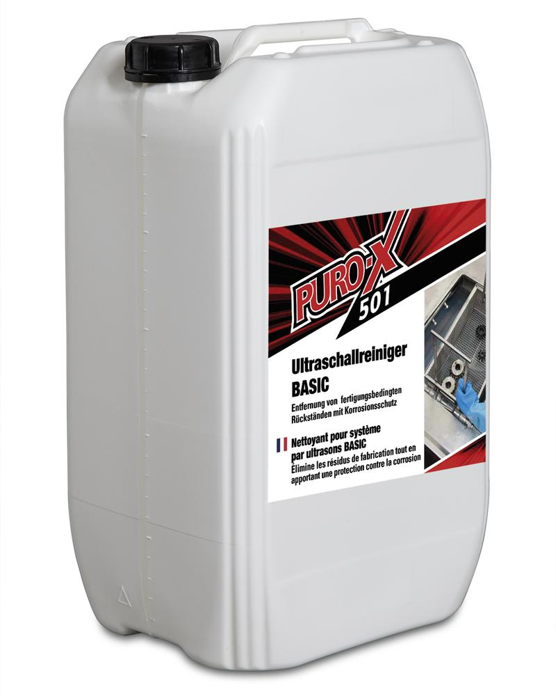 Puro-X 501 ultrasound cleaner BASIC, 1 x 25 litre canister