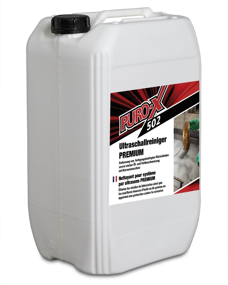 Puro-X 502 ultrasound cleaner Premium, 1 x 25 litre canister