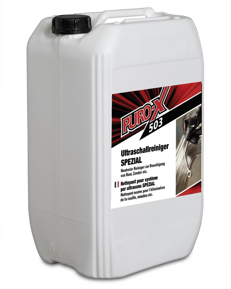 Puro-X 503 ultrasound cleaner Special, 1 x 25 litre canister