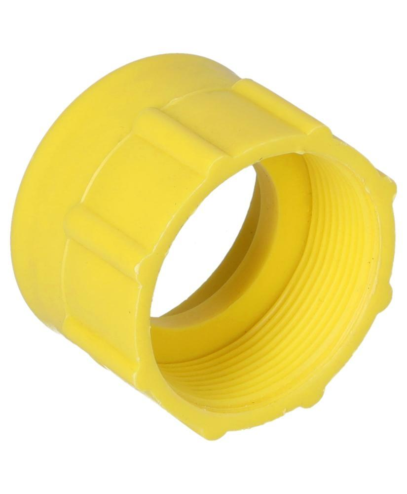 """Thread adapter, 2"""" fine (I) to DIN 61 / 31 (I), yellow - 3"""