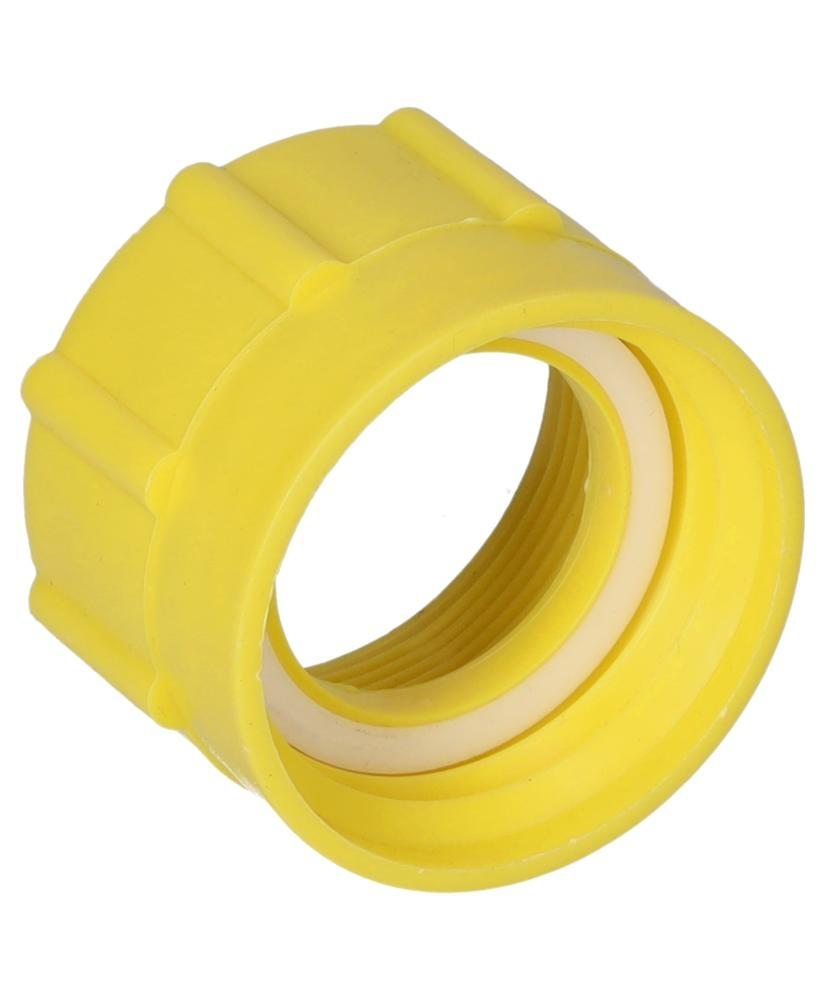 """Thread adapter, 2"""" fine (I) to DIN 61 / 31 (I), yellow - 4"""