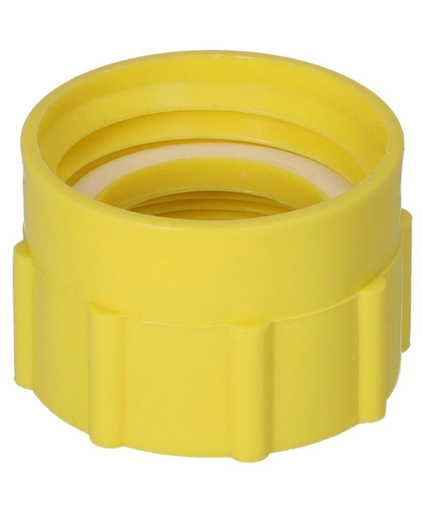 """Thread adapter, 2"""" fine (I) to DIN 61 / 31 (I), yellow"""