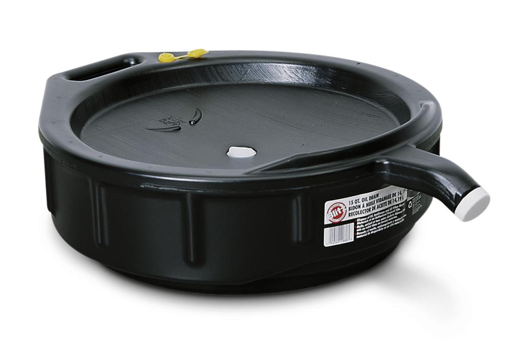 Waste oil and coolant sump, closed, 14 litre capacity