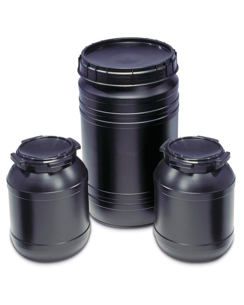 Conductive drum made from Polyethylene (PE), 26 litre volume