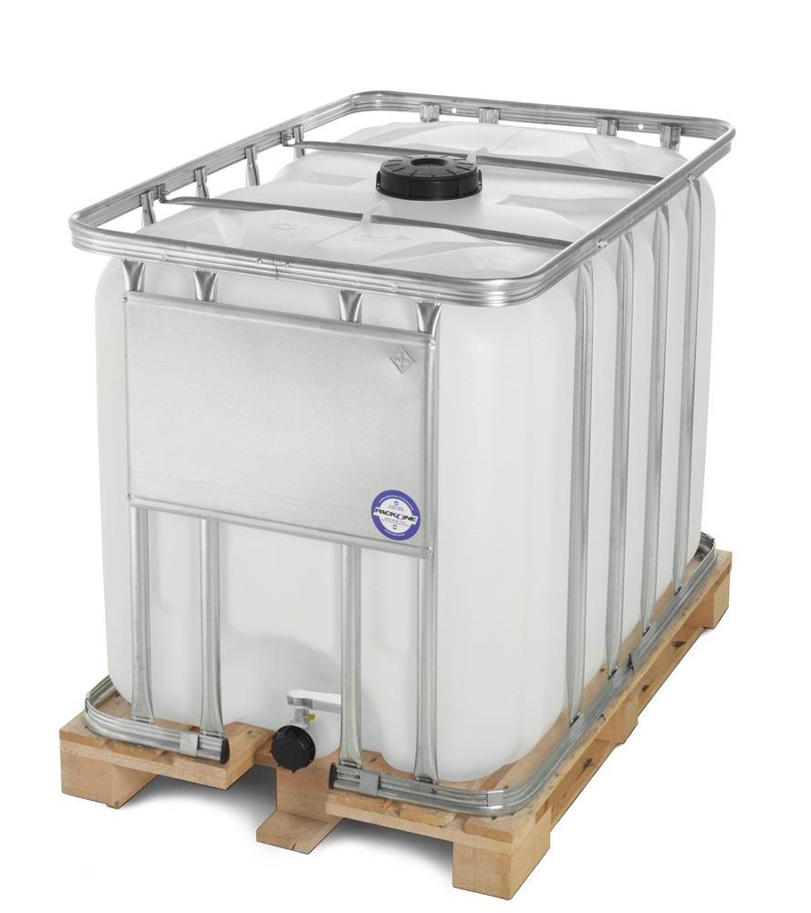 CONTAINER WITH WOODEN PALLET 1000L,STD.
