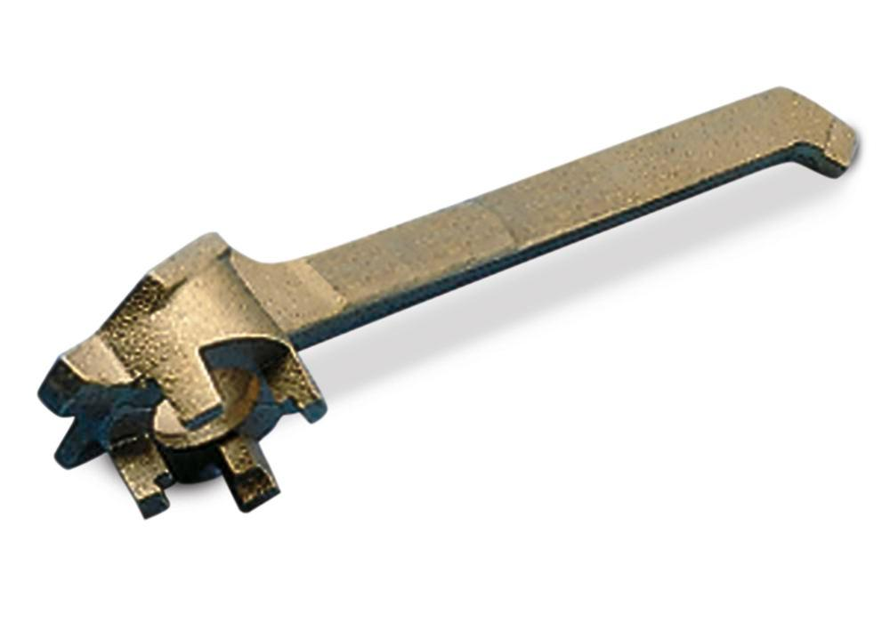 Drum wrench in bronze, for all current drum types
