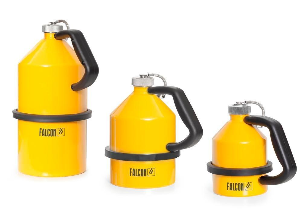 FALCON safety jug in steel, painted, with screw cap, 5 litres - 3