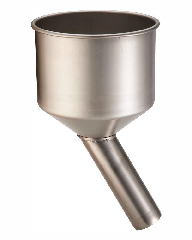 Funnel for stainless steel canister