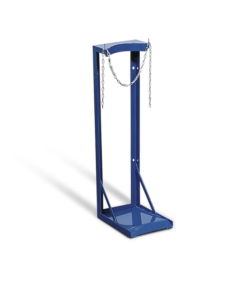 Gas Cylinder Stand, galvanized, for 1 x Ø 230 mm gas cylinders - 1