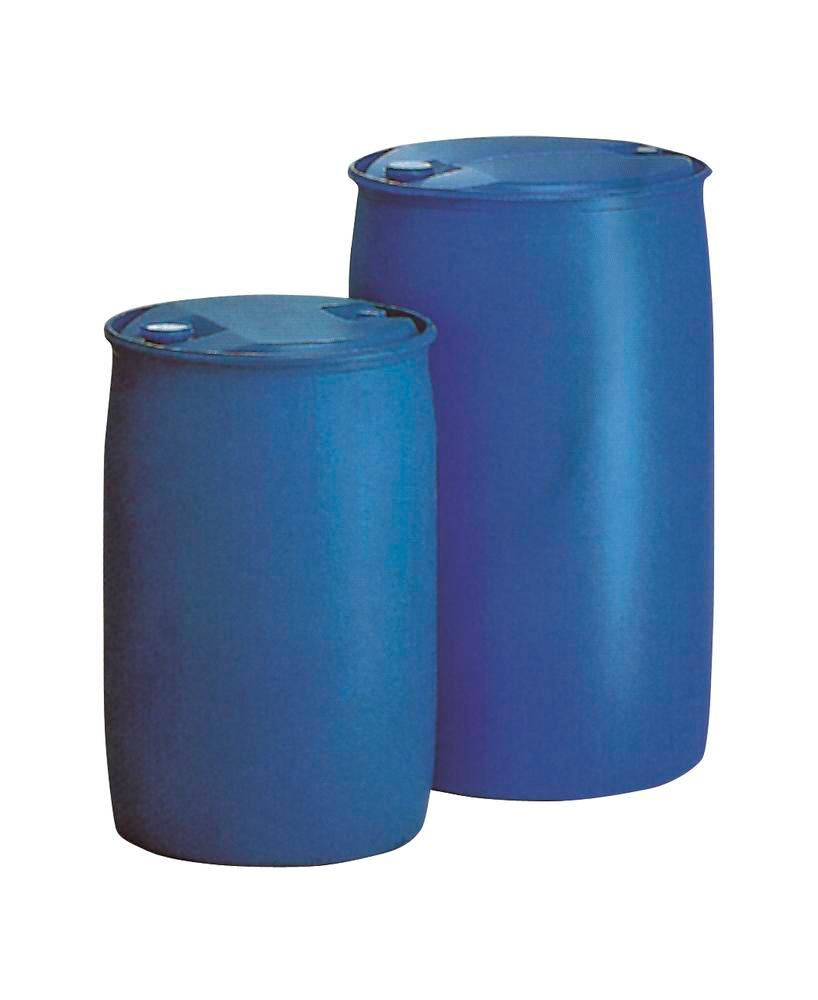 """L-ring drum with UN certification, Polyethylene, 220 l volume, 2"""" and 3/4"""" (screwed in one sided)"""