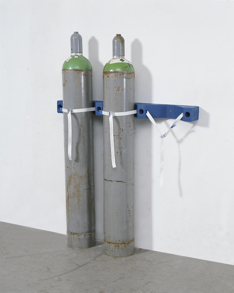 Poly Gas Cylinder Wall Mount for 3 cylinders max. 320 mm Ø