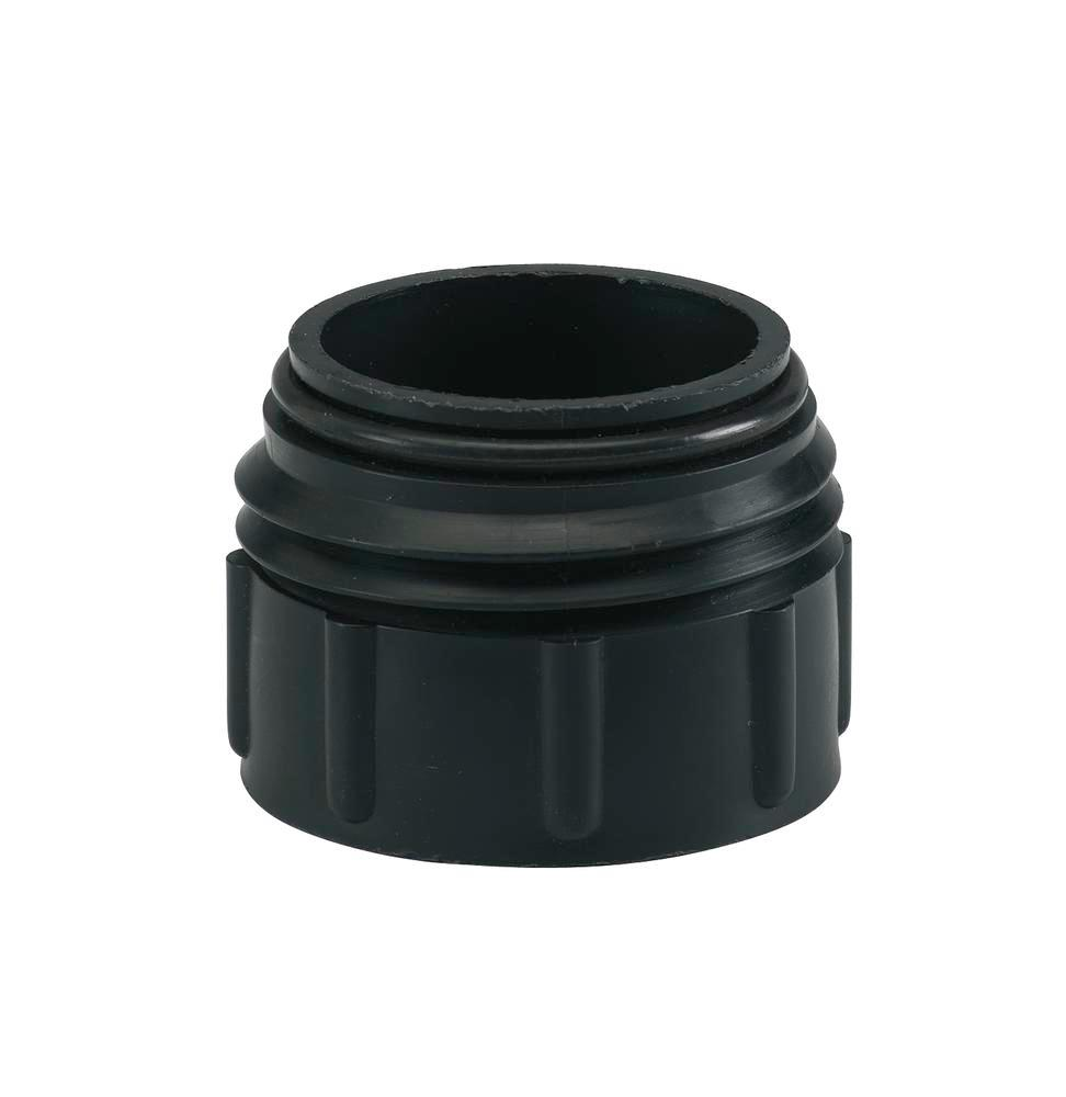 "Special thread adapter SG 3, 2"" fine (I) to 2"" Mauser coarse Viton (A), black"