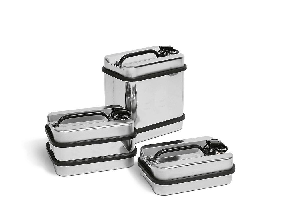Stainless steel safety containers, 5 litre volume - 1