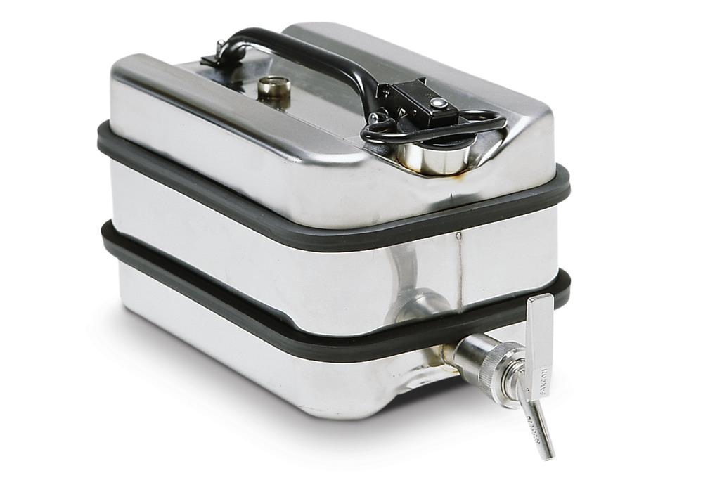 Stainless steel tap container, 11 litre volume