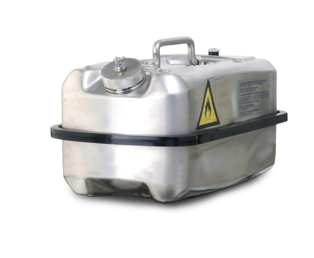 Stainless steel transport canister, 10 ltr