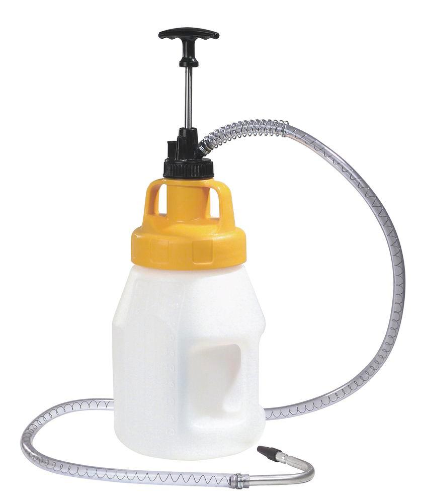 Steel Dispensing Pump, approx. 1.5m Spout Hose Attachment
