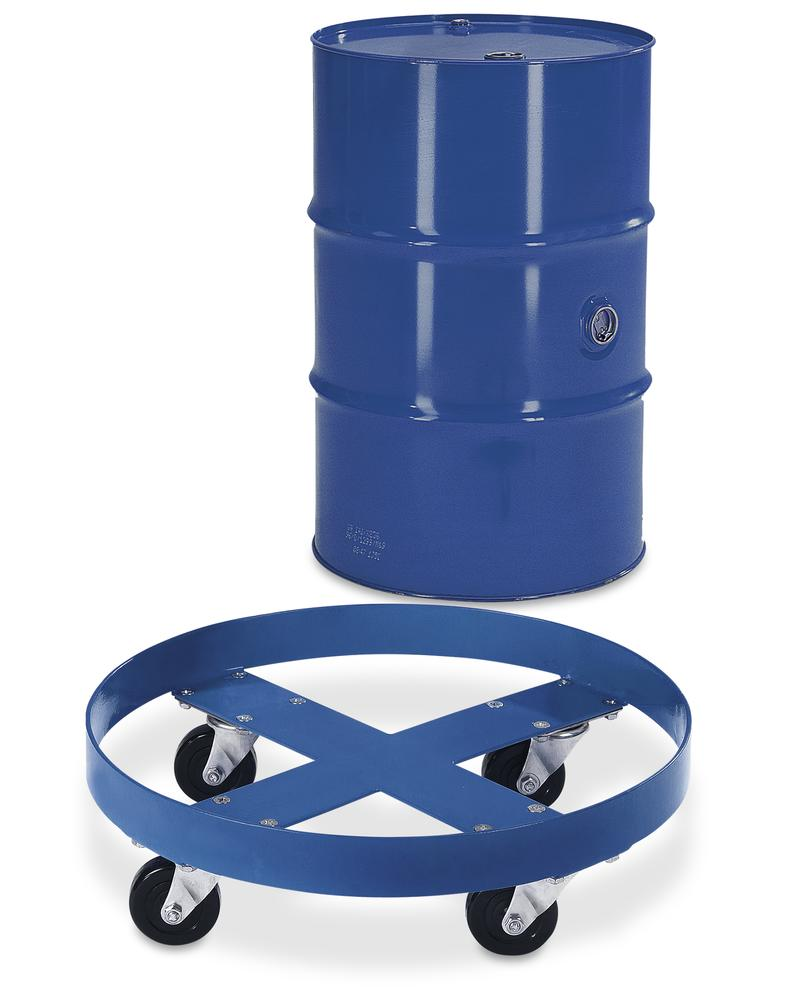 Steel drum dolly for 205 litre drums - 2