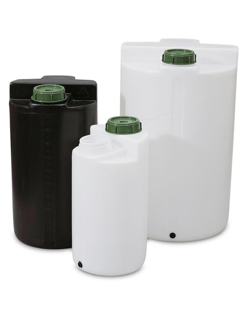 Storage and pouring containers 500 ltr, black