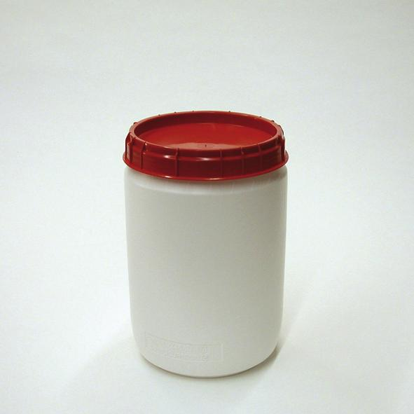 Total opening drum type SWH 39, white-red