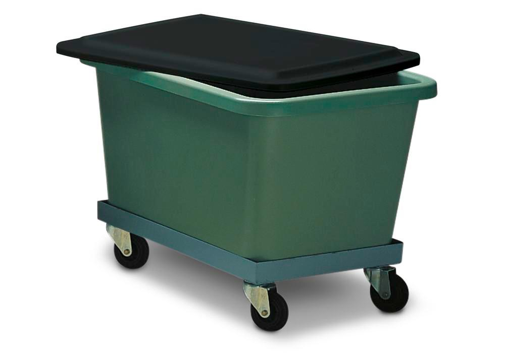 Wheel base, for rectangular container with 700 litre capacity - 1