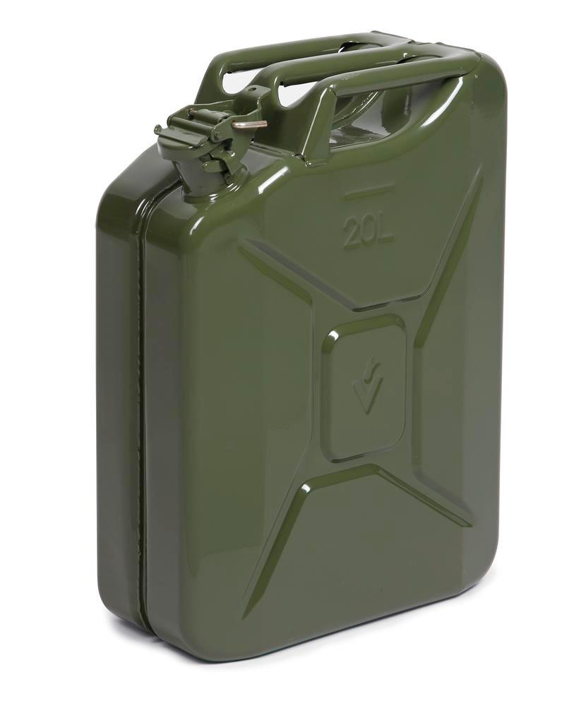 20 L steel Fuel can olive green UN