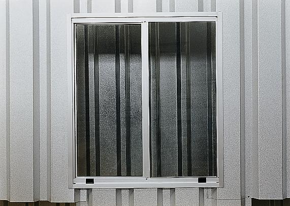 Aluminium sliding window for MC 320, 750X850 mm - 1