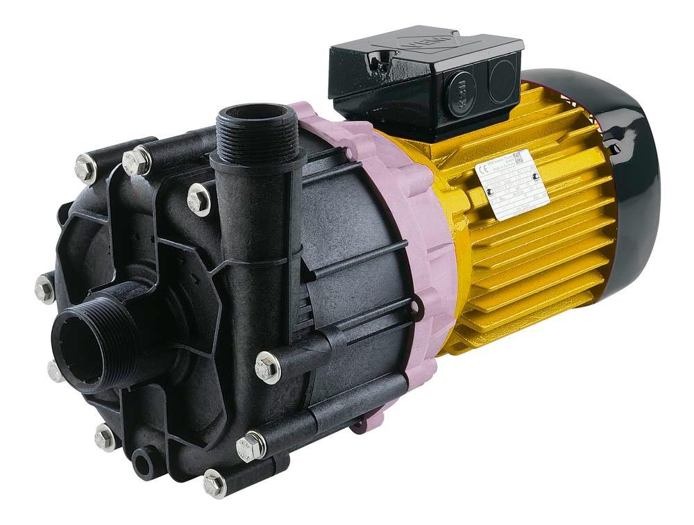 Centrifugal pump, (can be run dry) for emptying containers, polypropylene (PP) - 1