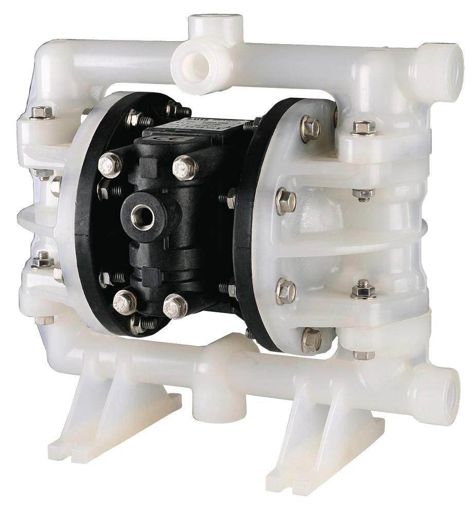 """Compressed air membrane pump 1"""", manufactured from PP/TF"""