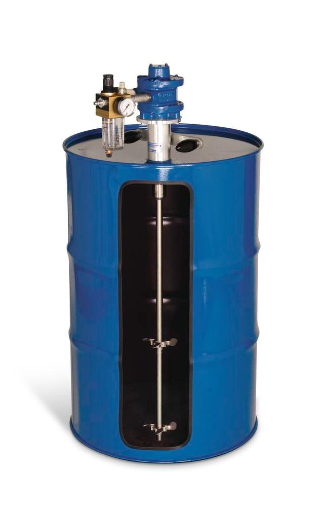 """Compressed air stirrer FRP 3000, for closed drums with 2"""" bung hole, Ex-protected - 1"""
