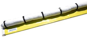 DENSORB Set of 4 Oil Containment Booms (3 m x 130 mm) and Submerged Guard (12 m x 300 mm)-w280px