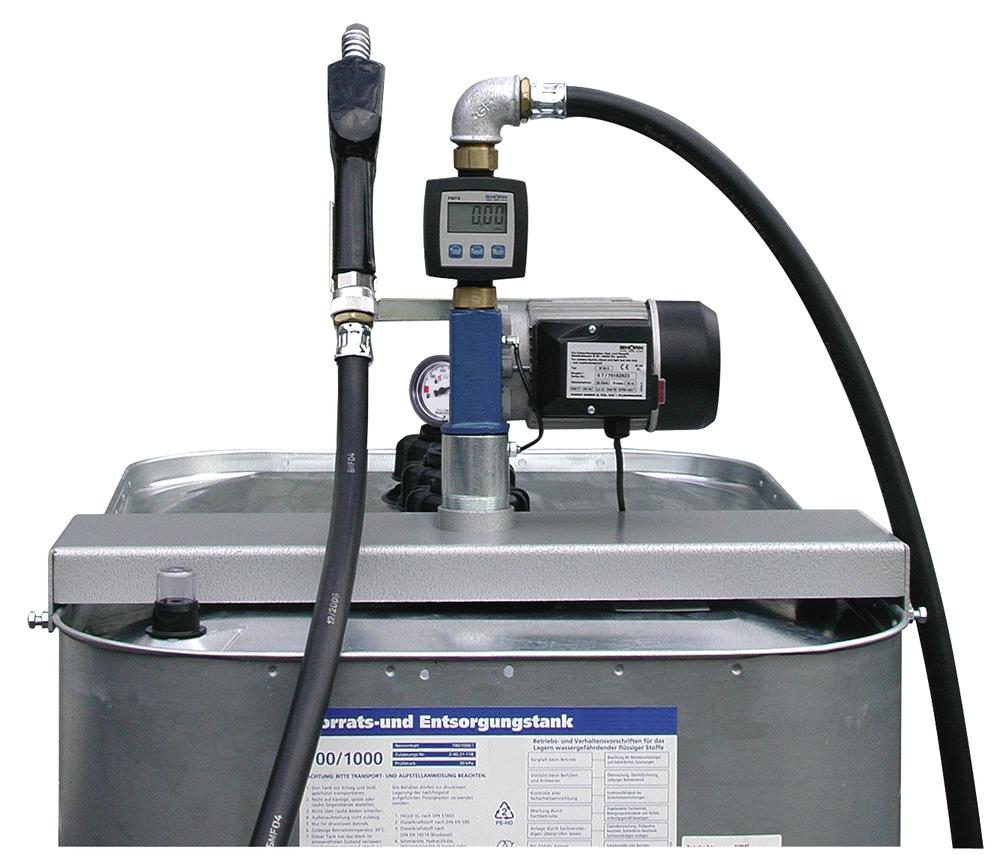 Electro Pump Model WA 50-N, for diesel and heating oil, with automatic nozzle