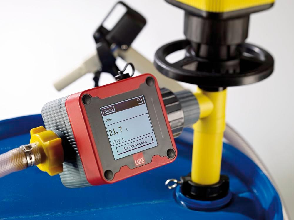 Flow Meter for Ex-Protected Drum Pumps