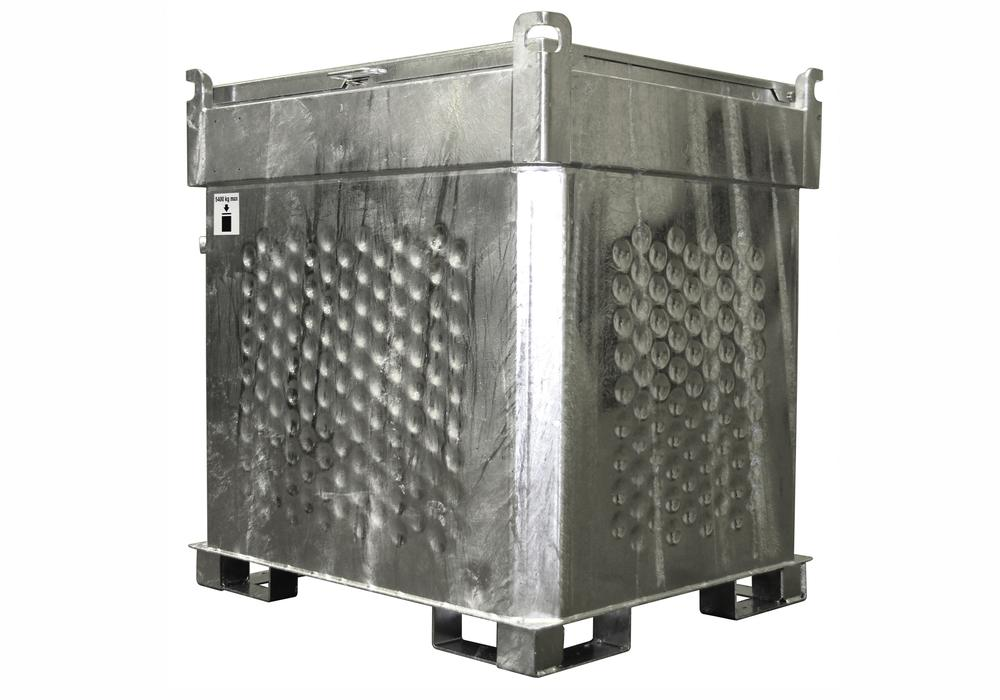 Mobile diesel tank, 1000 litre, with storage and transport approval