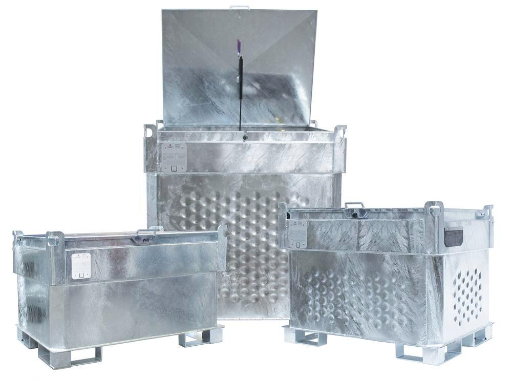 Mobile petrol tank, 330 litre, with storage and transport approval