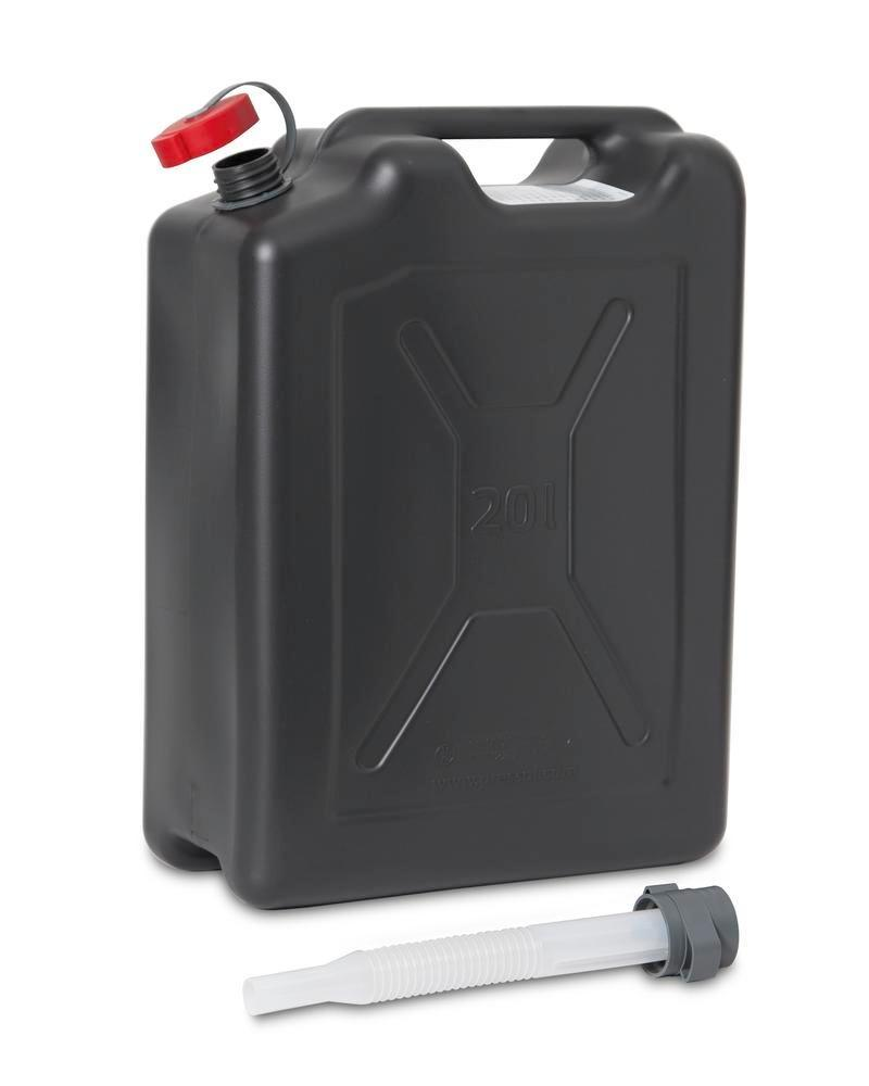 Plastic safety canister, 20 litres volume - 3