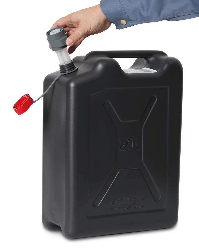 Plastic safety canister, 20 litres volume - 5