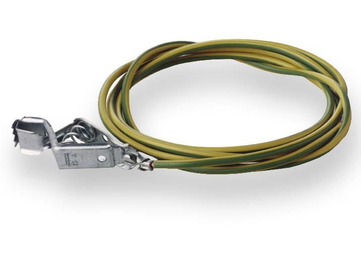 Potential equalisation cable for pump